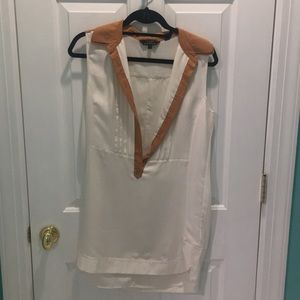 Ted Baker Creme Silk Shift Dress